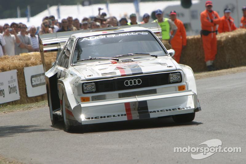 #107 Audi Quattro Sport S1 'Pikes Peak' de 1987