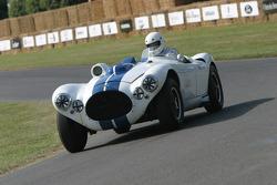 #64 1953 Cunningham C4R, class 5: Robert Williams