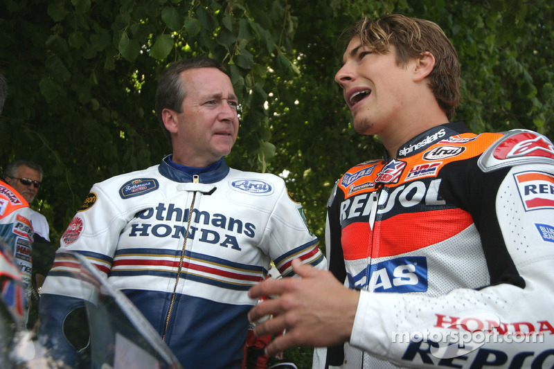 Freddie Spencer and Nicky Hayden