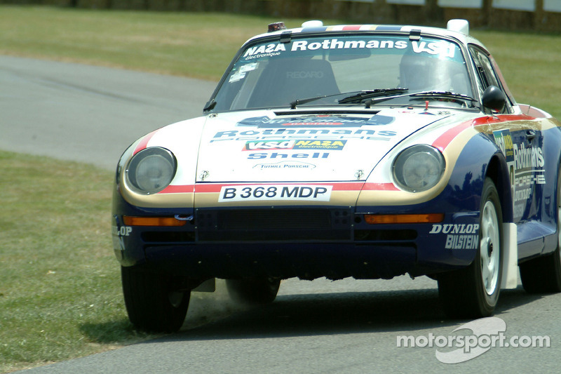 #959 1985 Porsche 959 Paris-Dakar, class 17