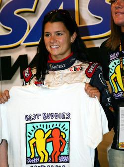 Danica Patrick at a promo event