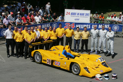 #39 Chamberlain Synergy Motorsport Lola AER: Bob Berridge, Gareth Evans, Peter Owen and team