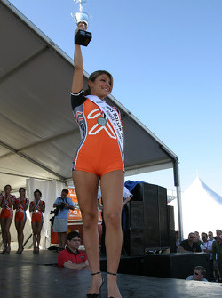 Second runner-up of Miss Molson Indy 2005