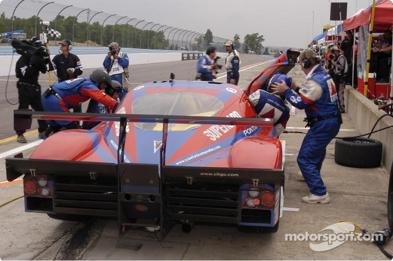 La CITGO - Howard - Boss Motorsports Pontiac Crawford N°2 (Andy Wallace, Milka Duno,, Jan Lammers)