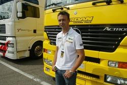 Nicolas Kiesa, Jordan Test Pilotu