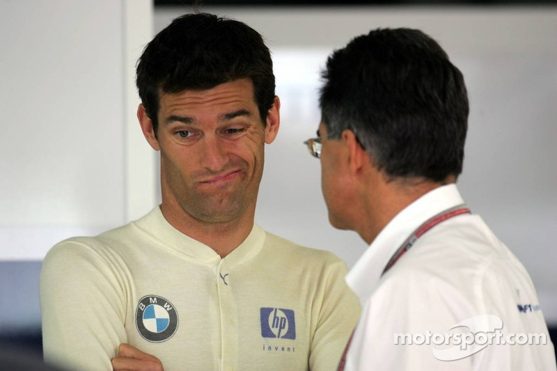 Mark Webber y Dr Mario Theissen