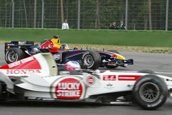Jenson Button and Christian Klien