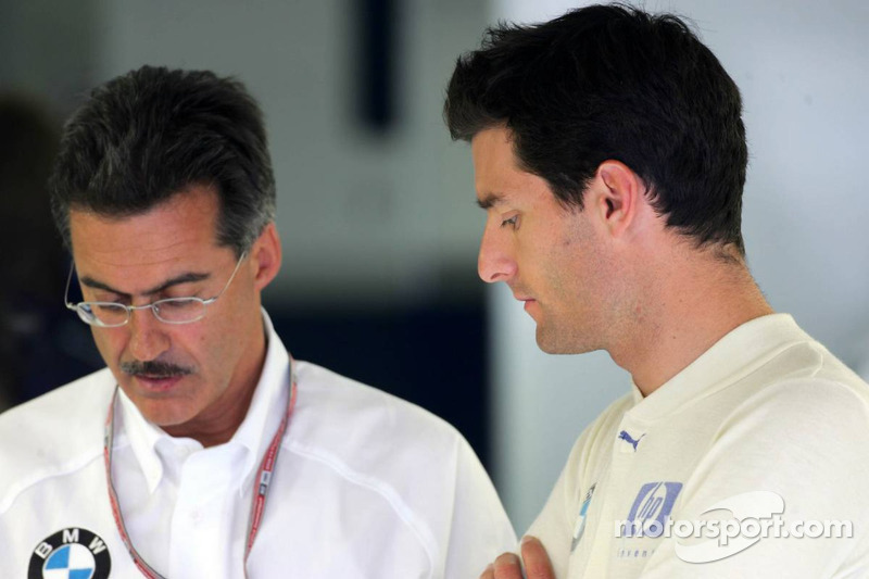 Dr Mario Theissen y Mark Webber