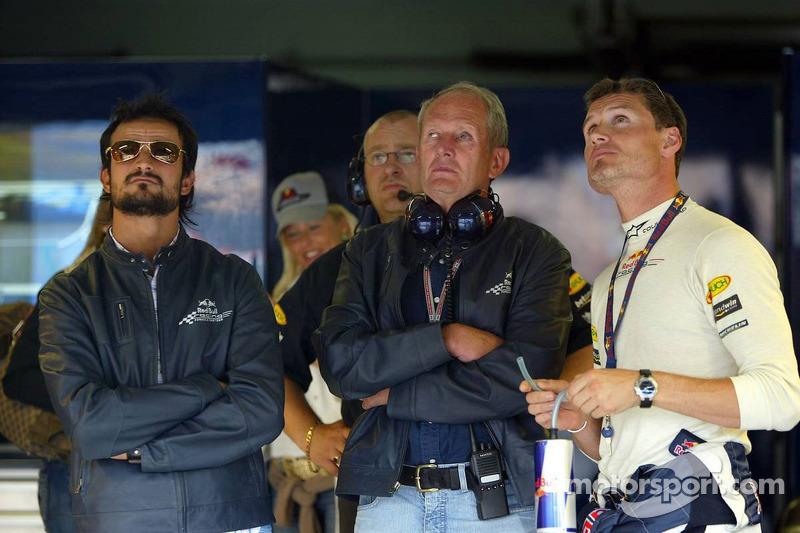Vitantonio Liuzzi y David Coulthard