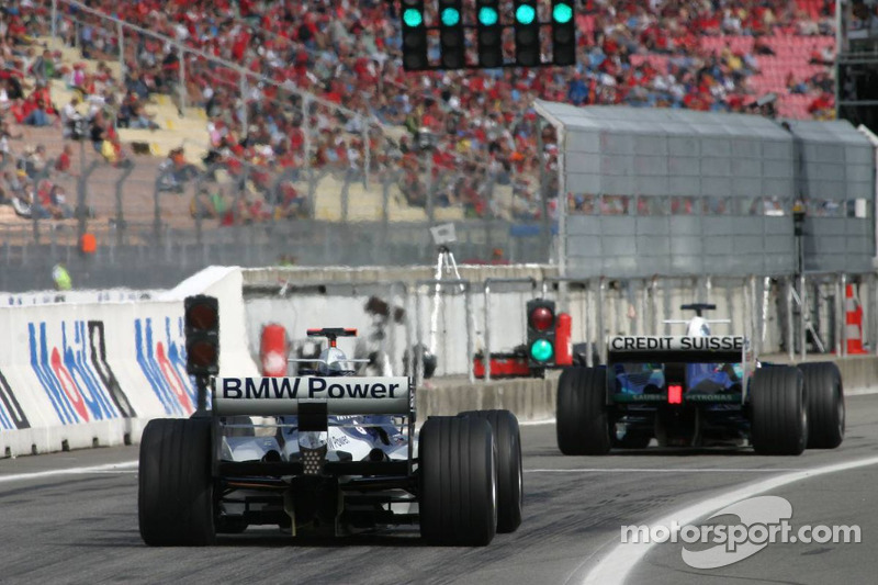 Jacques Villeneuve y Mark Webber