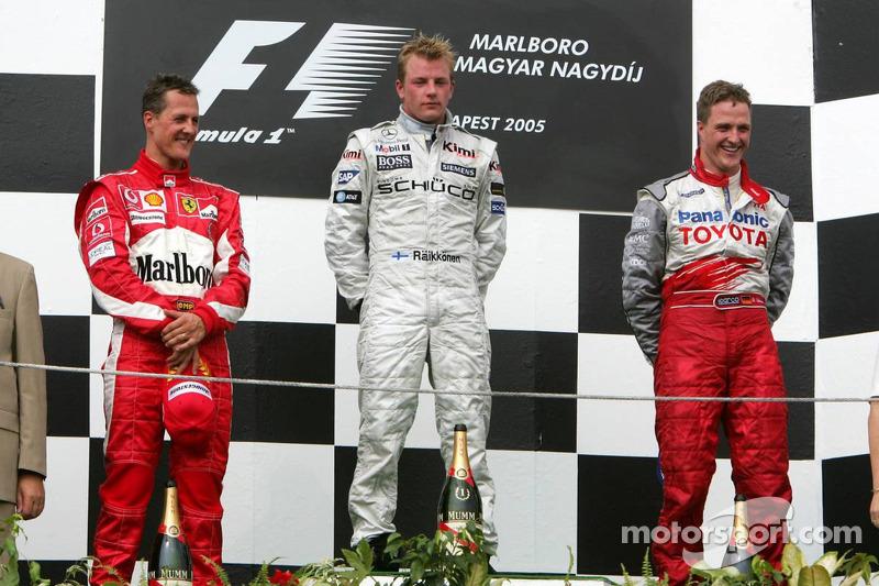 Подіум: 1. Кімі Райкконен, McLaren-Mercedes. 2. Міхаель Шумахер, Ferrari. 3. Ральф Шумахер, Toyota