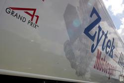Zytek Motorsport transporter