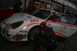 #89 Sebah Automotive Porsche 996 GT3 RSR: Lars Erik Nielsen, Thorkild Thyrring, Pierre Ehret