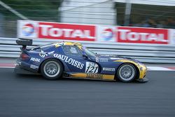 #121 Didier De Radigues Chrysler Viper GTS-R: Didier De Radigues, Richard Virenque, François Labhardt, Philip Prette