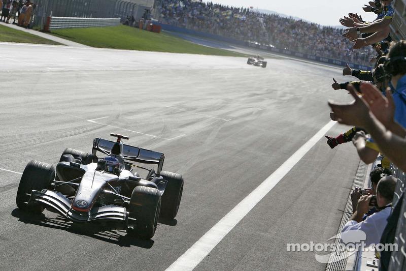 2005: Гран При Турции, McLaren MP4-20. Стартовал с поул-позиции