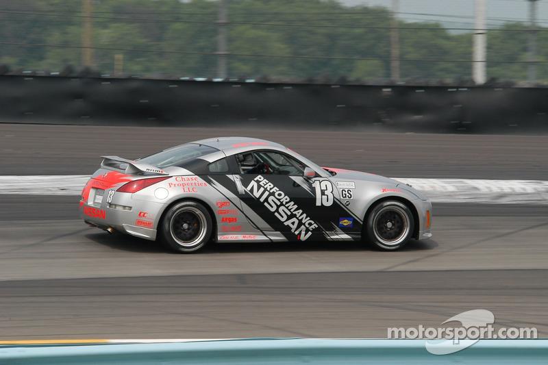 #13 Unitech Racing Nissan 350Z: Blake Rosser, David Murry
