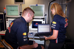 Red Bull Racing IT engineer Faye Wilson