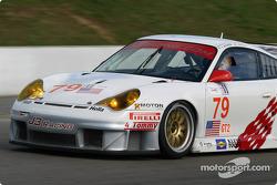La Porsche 911 GT3 RSR n°79 du J-3 Racing (Justin Jackson, Tim Sugden)