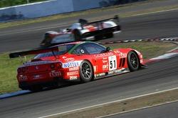 #51 BMS Scuderia Italia Ferrari 550 Maranello: Michele Bartyan, Cristian Pescatori, Toni Seiler