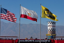 California Speedway flags