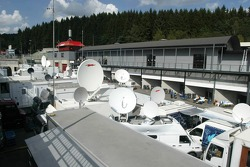 Television compound at Spa