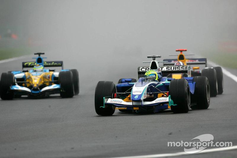 Felipe Massa lidera a Giancarlo Fisichella