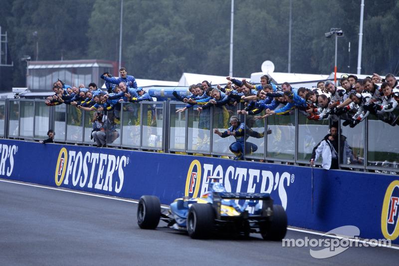 Segundo lugar de Fernando Alonso