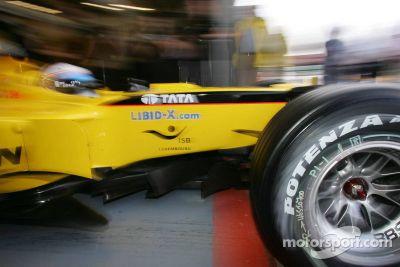 Silverstone September test