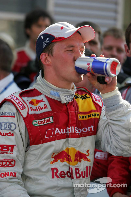 Le vainqueur Mattias Ekström