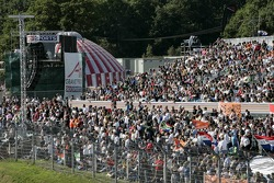 Fans op Brands Hatch