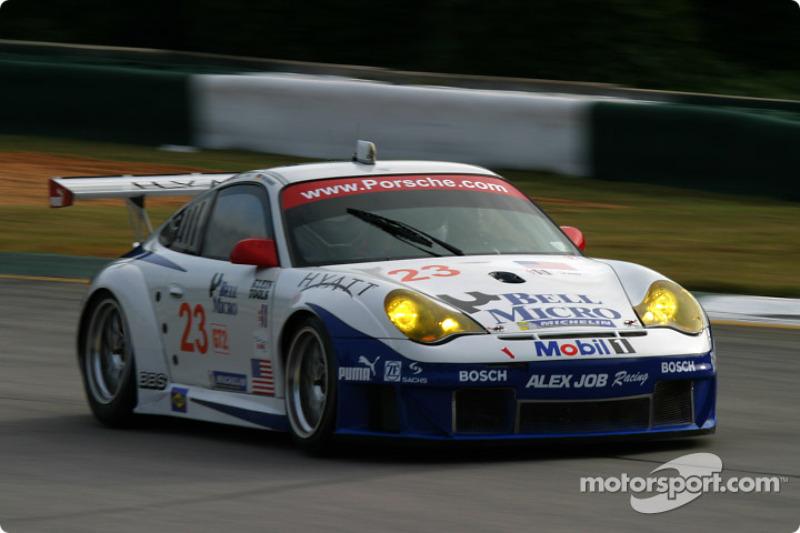Alex Job Racing Porsche 911 GT3 RSR : Timo Bernhard , Romain Dumas