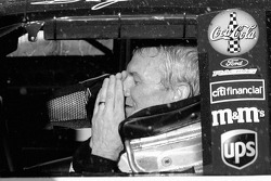 Victory lane: race winner Dale Jarrett