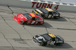 Kasey Kahne, Dave Blaney and Joe Nemechek