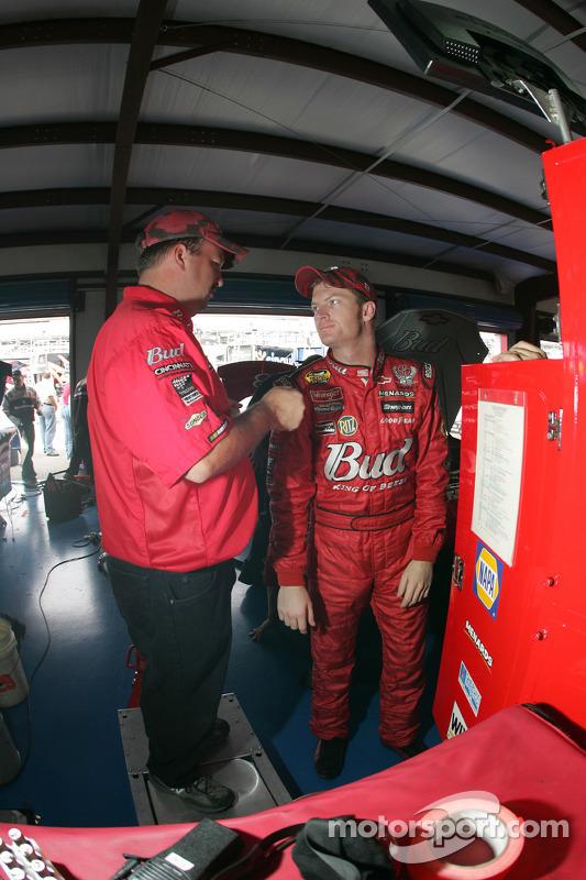 Dale Earnhardt Jr. avec Tony Eury Jr.