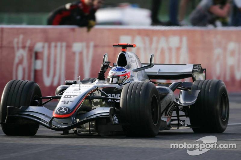 マクラーレンMP4-20・メルセデス(キミ・ライコネン/2005年日本GP)