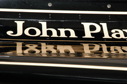 1976 Lotus 77/3 rear wing reflection