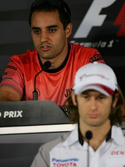 Thursday FIA press conference: Jarno Trulli and Juan Pablo Montoya