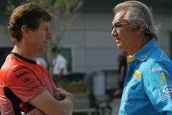 Mario Illien and Flavio Briatore