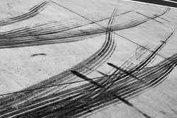 Tire marks