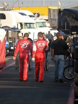 Dale Earnhardt Jr. and Jeremy Mayfield