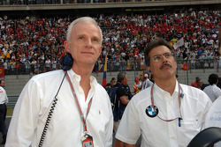 Dr. Helmut Panke y Dr. Mario Theissen