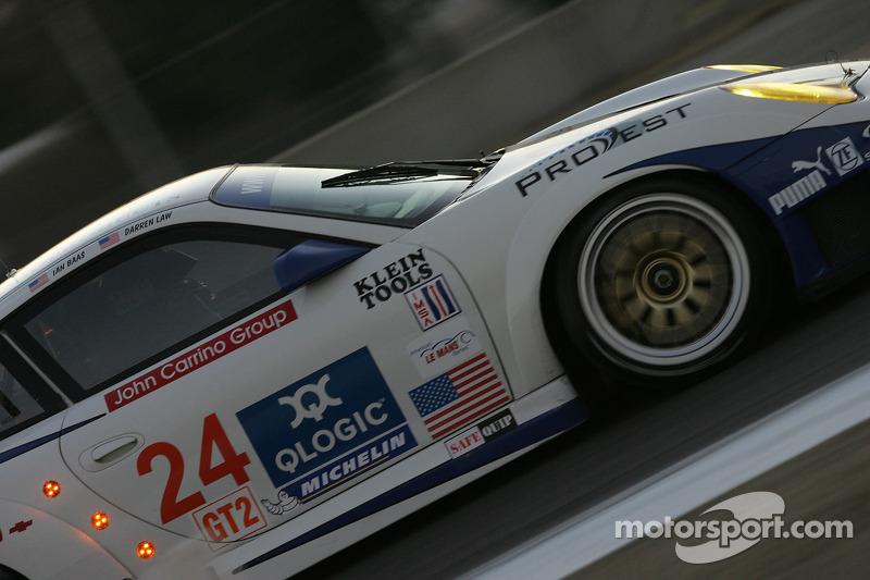 Alex Job Racing Porsche 911 GT3 RSR : Ian Baas, Darren Law