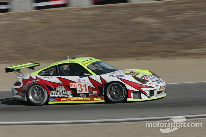 Petersen Motorsports/White Lightning Racing Porsche 911 GT3 RSR : Michael Petersen, Patrick Long, Jorg Bergmeister