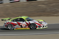 #31 Petersen Motorsports/White Lightning Racing Porsche 911 GT3 RSR: Michael Petersen, Patrick Long, Jorg Bergmeister