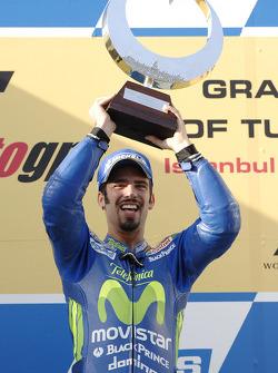 Podium: race winner Marco Melandri