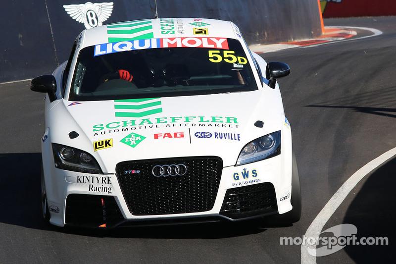 Kintyre Racing Audi TT RS Turbo Glyn Crimp Stuart Kostera - Audi stuart