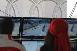 Guardando la gara dal Camp Audi