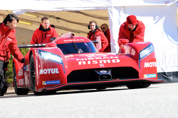 Olivier Pla prueba el Nissan GT-R LM NISMO