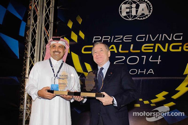 Nasser bin Khalifa al-Attiyah, dan Jean Todt