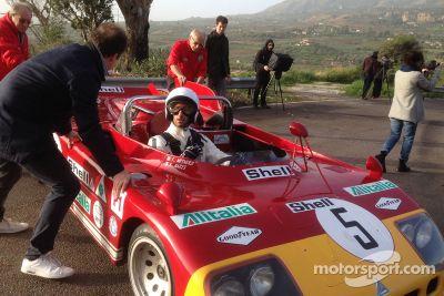 Daniel Ricciardo vit la Targa Florio